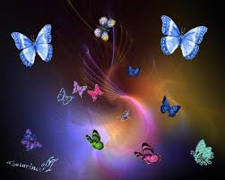 fantasy butterfly backgrounds free download hd colorful