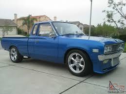 nissan trucks interior nissan 620 king cab 1976 show pick up truck restored turbo ka24de