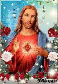 imagenes de jesus lindas ver imagen de jesús en medio de lindas rosas de color rojo y rosadas