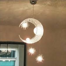 Moon Ceiling Light Modern Personalized Home Decorative Fixture Lighting L Moon