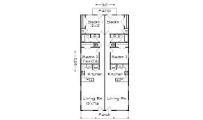 narrow house plans for narrow lots 25 floor plans narrow lot ideas house plans 13308
