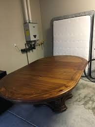round table palo alto solid wood dining table seats 8 furniture in palo alto ca