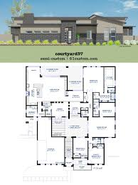 home plans with courtyard house plans houses with courtyards design plans high definition