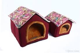 Comfortable Home by 2017 House Shape Dog Bed Puppy Soft Comfortable Home Detachable