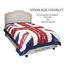 British Flag Bedding Union Jack Coverlet U2013 Down Under Bedding And Mattresses