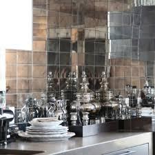 bathroom astounding mirrored tile backsplash with white kitchen
