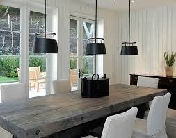 modern dining room sets stylish inspiration modern rustic dining table room