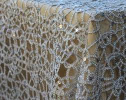 gold lace table runner tablecloths and napkins rodriguez imports gold lace sequin tablecloth