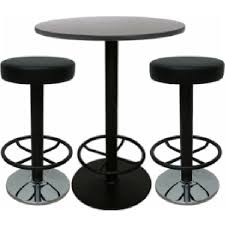 High Bar Table And Stools Awill Black Bar Table High Bar Stools Set Nightclub Bar