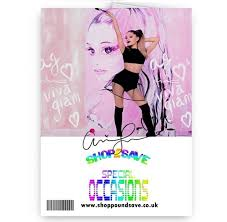 grande personalised name a5 happy birthday card with envelope