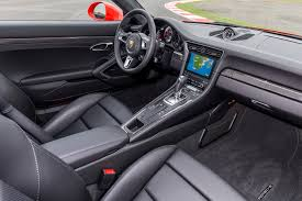 porsche atlanta interior 2017 porsche 911 turbo and 911 turbo s review