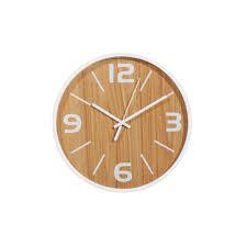 frankie wall clock natural white interior secrets