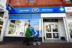 shop boots pharmacy boots to one of its pharmacies in bilston in a to the