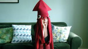 Squid Halloween Costume Banana Peel Trucker Hat