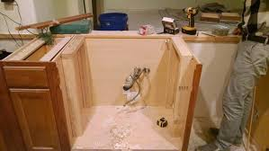 how to replace cabinet base sink how to install an apron sink in a stock cabinet pneumatic