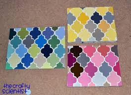 Paint Chips by Paint Chip Quatrefoil Art Http Www Thecraftyscientist Com 2011