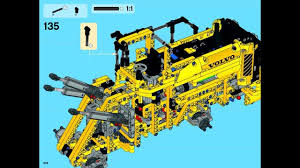 build your own volvo wheel loader u2013 in lego construction