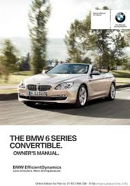 bmw 6 series convertible 2014 f12 service manual