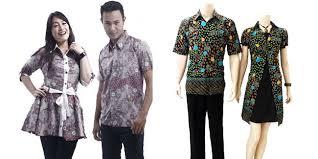 desain baju batik untuk acara resmi tren batik sarimbit yang stylish untuk couple vemale com