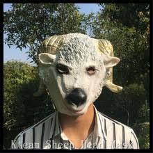 Goat Halloween Costume Popular Goat Head Mask Buy Cheap Goat Head Mask Lots China