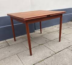 extendable teak dining table danish mid century extendable teak dining table from farstrup 1960s