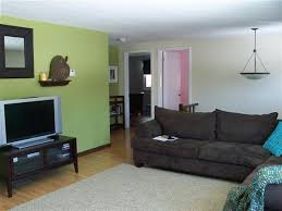 painting one wall a different color in a bedroom at home interior
