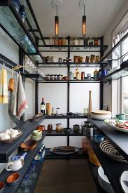 Open Metal Shelving Kitchen by Metal Wall Shelves Kitchen Contemporary With Glass Shelves Tubular