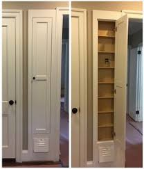 ironing board closet cabinet convert an old ironing board nook into a spicy spice rack spicy