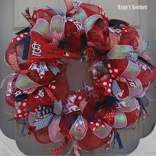 go team st louis cardinals deco mesh wreath item crd117 by