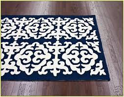 Damask Area Rugs Blue And White Area Rugs Home Design Ideas