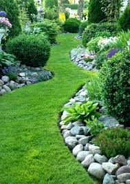 Rocks For Garden Edging Landscape Border Rocks Rocks For Garden Edging Rocks And Pebbles