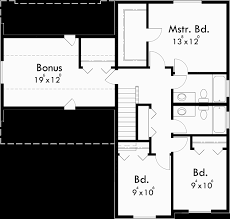 Floor Plans With Bonus Room Two Story House Plans 3 Bedroom House Plans House Plans