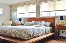 Raised Platform Bed Dishy Raised Platform Bed With Master Bedroom Symmetry Gray Floral