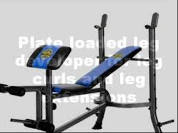 Home Gym Weight Bench Marcy Weight Bench Youtube