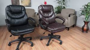Office Star Leather Chair Worksmart Fl660 Series Youtube