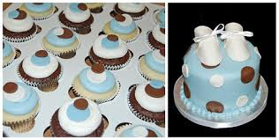 Baby Blue And Brown Baby Shower Decorations Simply Sweets Cake Studio Scottsdale Phoenix Az Custom Cakes