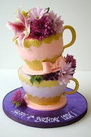 topsy turvy teacups cake creative and beautiful cakes