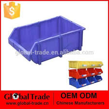 Plastic Tool Storage Containers - small parts storage plastic storage container parts bins red