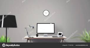 fond d 馗ran bureau ordinateur bureau et affichage des outils sur le bureau écran d