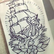 Nautical Tattoos by Best 25 Traditional Ship Tattoo Ideas On Pinterest Traditional