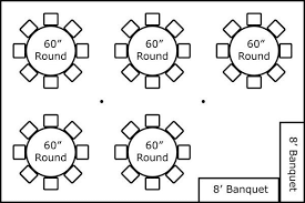 table seating for 20 20 x 30 w round tables buffet super stuff party rental