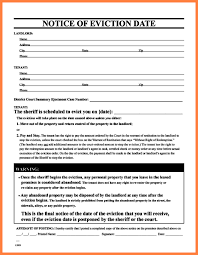 5 arkansas eviction notice form notice letter
