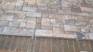Outside Tile For Patio Front Porch Tiling With Stone Look Tiles Youtube