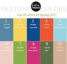 colors spring 2017 pantone spring 2017 pantone s top 10 colors for spring 2017