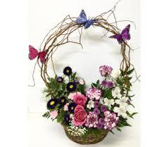 basket arrangements fresh flower basket arrangements grandville and wyoming mi