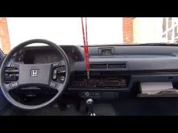 1985 honda accord 1985 honda accord 5mt test drive