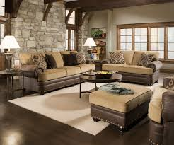 Brown Living Room Furniture Sets Traditional Sofa Ebay