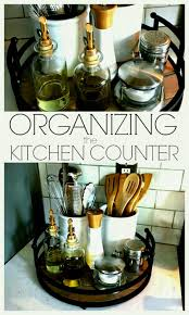 canisters for kitchen counter organizing the kitchen counter a simple tray and few canisters is