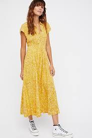 midi dress 40s printed midi dress free