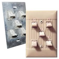 what is low voltage lighting old low voltage lighting system switches relays wall switch plates